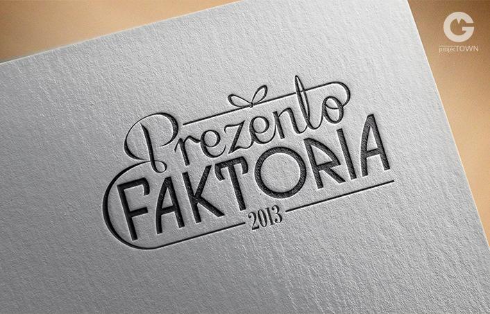 Prezentofaktoria logo wersja podstawowa