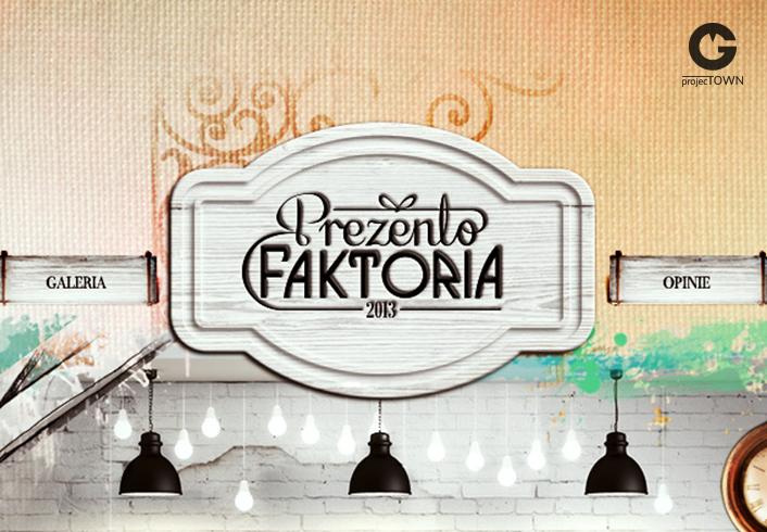 Prezentofaktoria logo szyld www