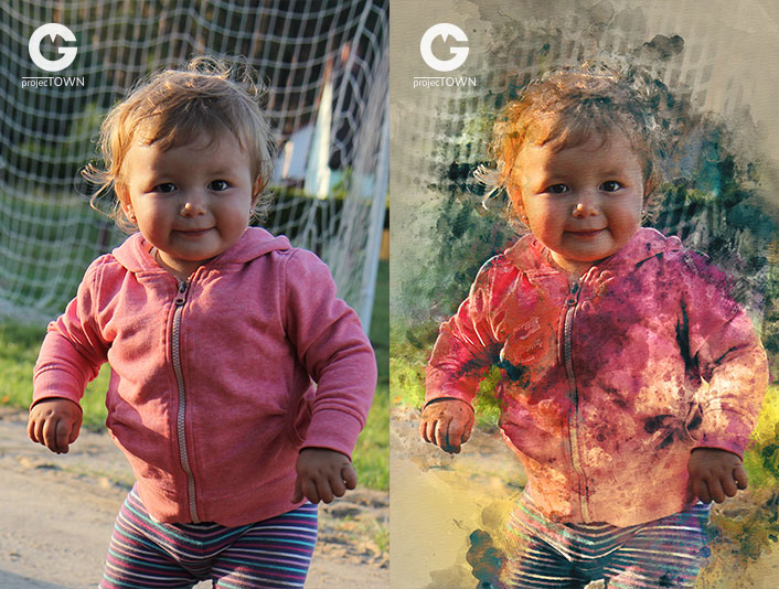 Dorotka 1 przed i po
