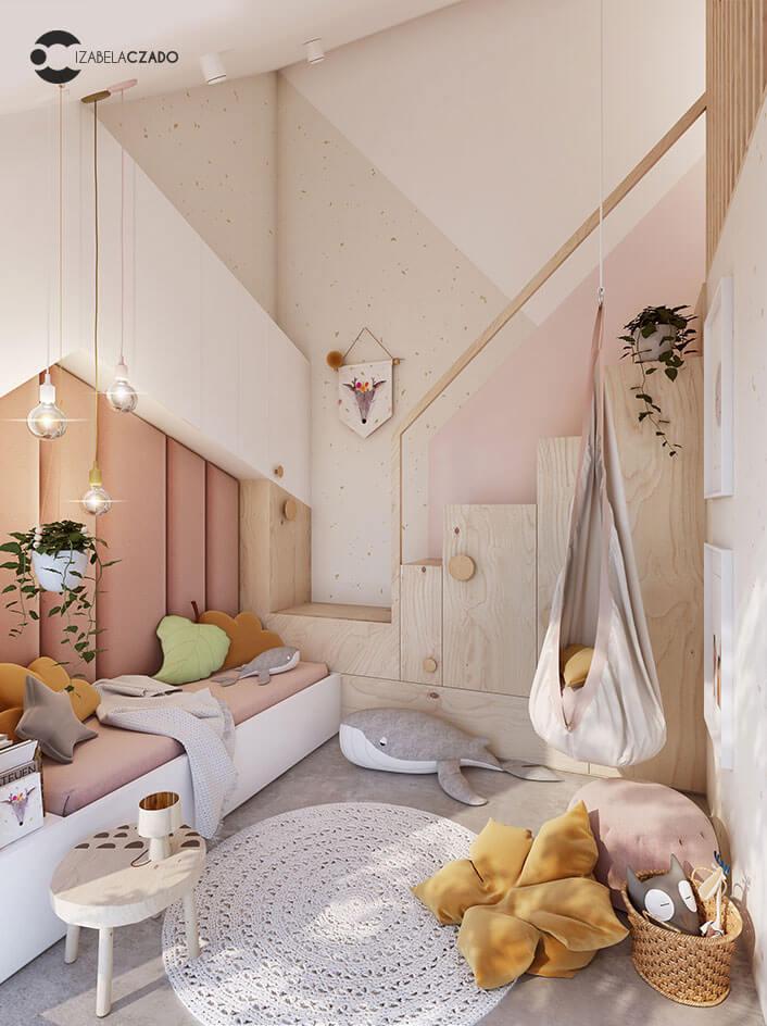 Radwanice - pokój dla dziewczynki 1.