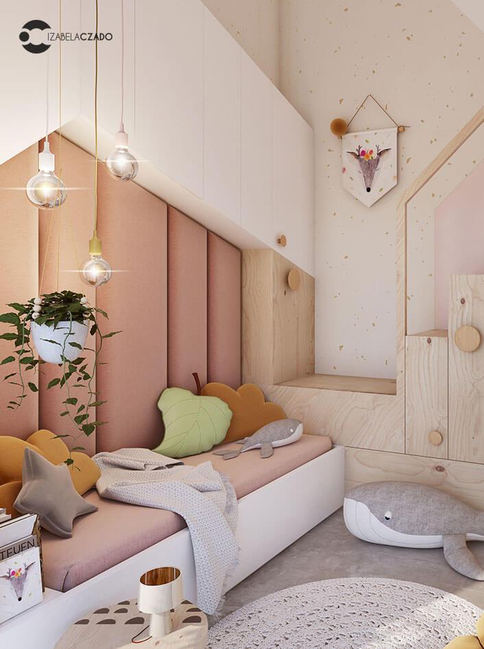 Radwanice - pokój dla dziewczynki 2.