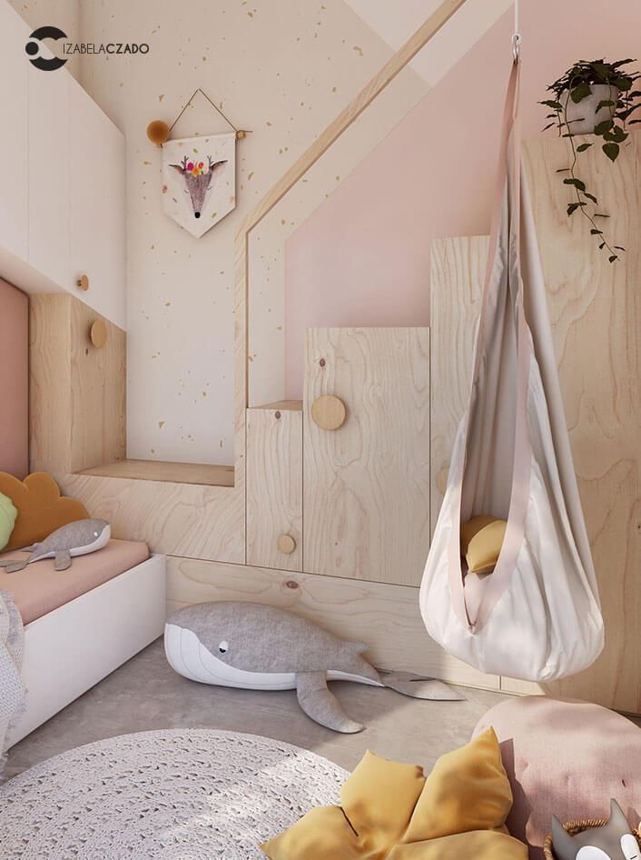 Radwanice - pokój dla dziewczynki 3.