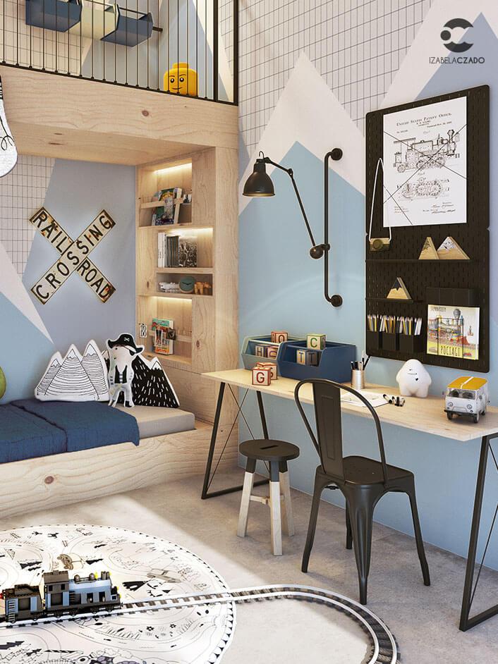 Radwanice - pokój dla chłopca 3.